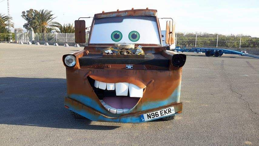 Full Sized Replica Of Mater From Kids Movie Cars Star Car Hire