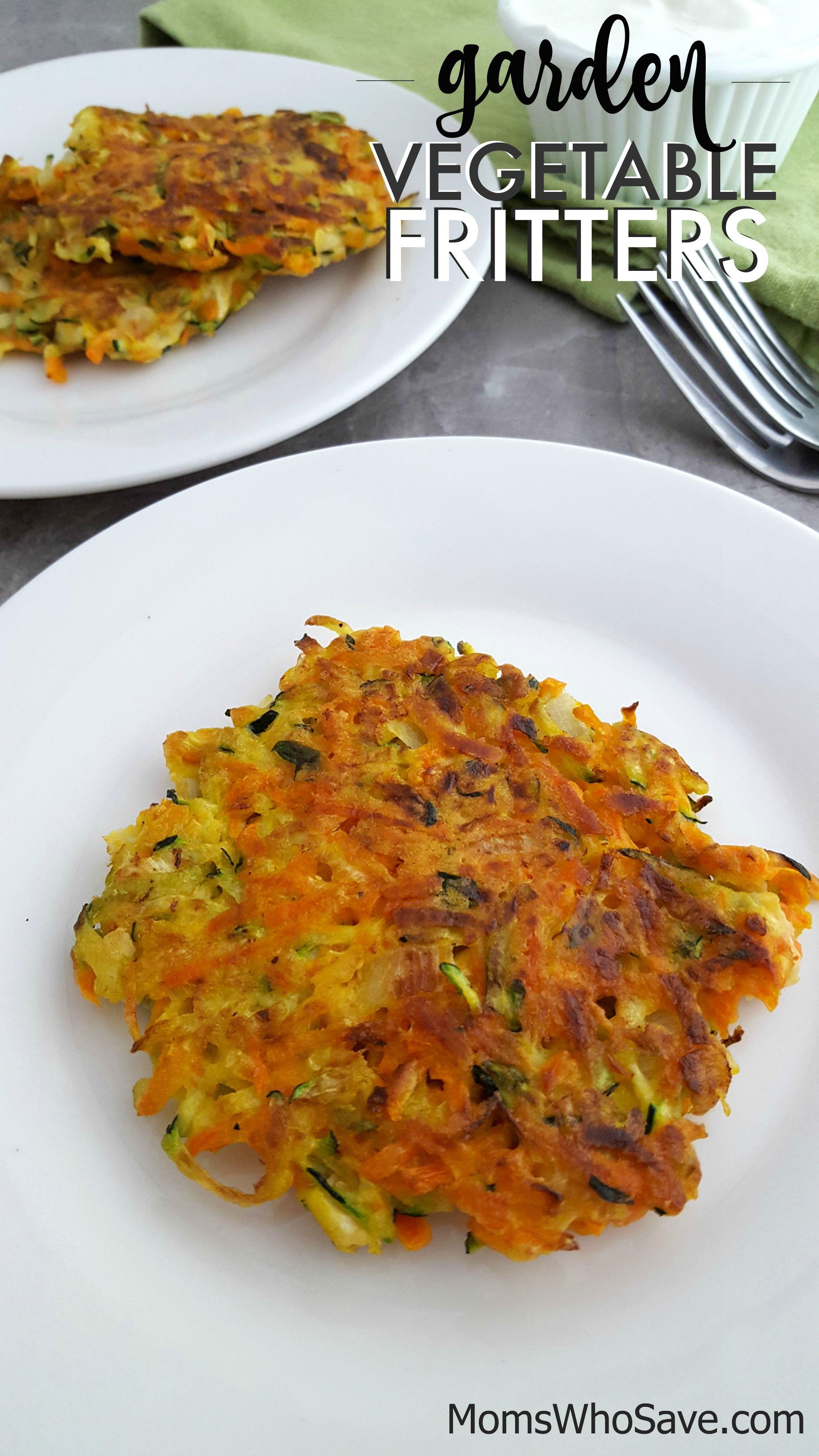 Garden Vegetable Fritters Recipe