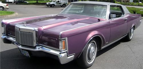 The Vinyl Roof Lincoln Cars Lincoln Motor Vinyl Roofing