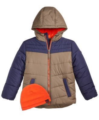 66f93d17055f Rm 1958 Toddler Boys Norris Colorblocked Hooded Jacket with Hat ...