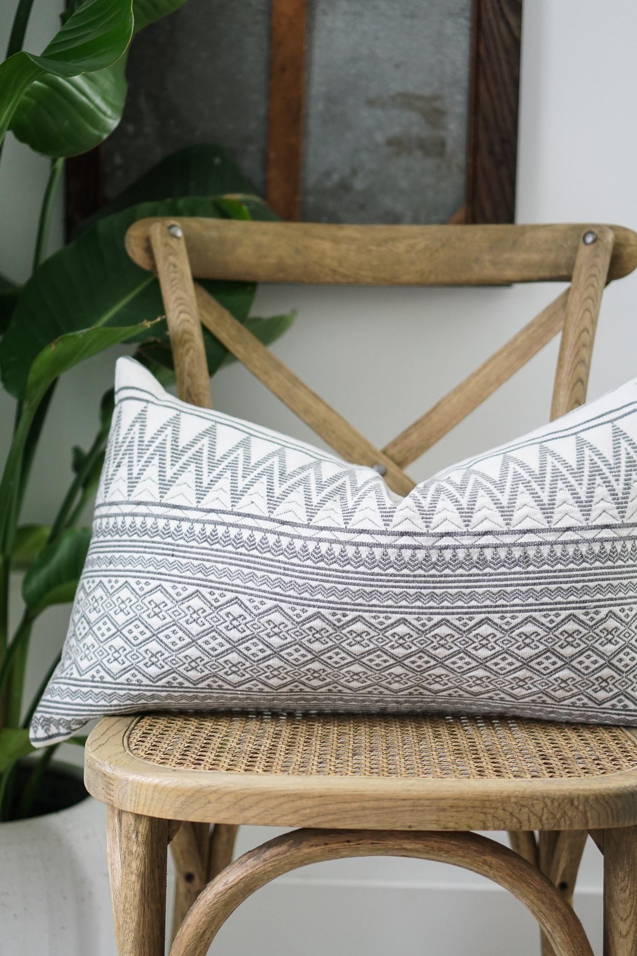Grayson Naga Square Pillow Cover