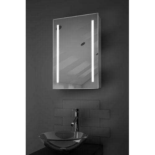 Surface Mount Mirror Cabinet, 40 X 60cm Mirror