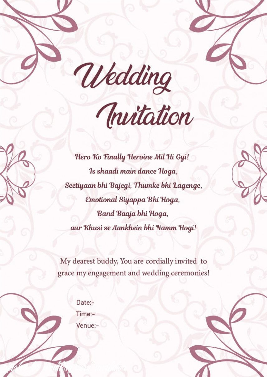 Whats So Trendy About Quotes For Wedding Card Invitation