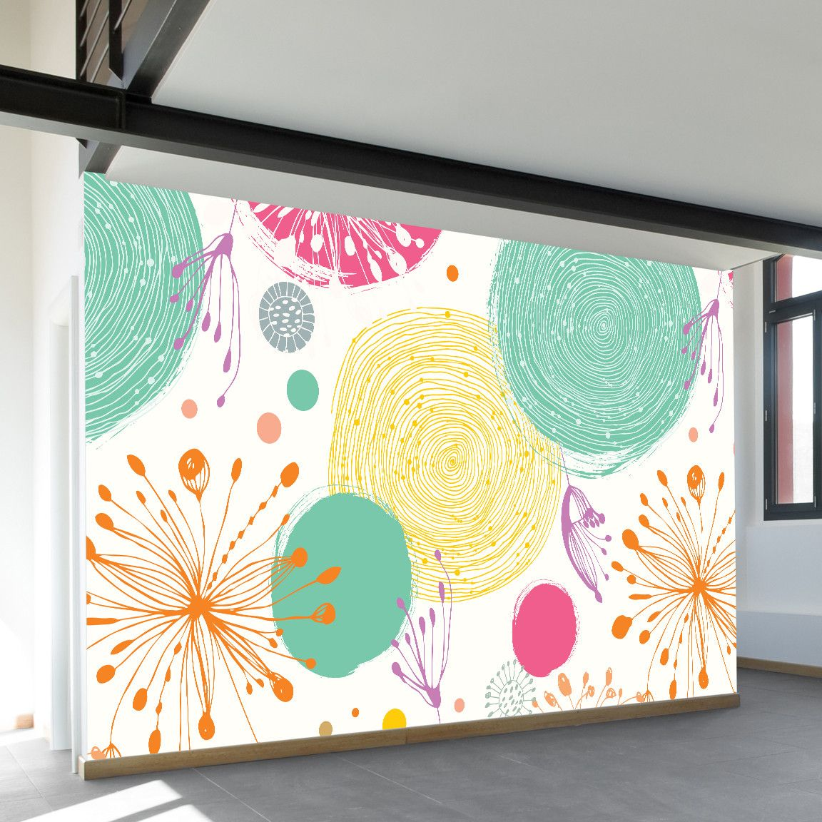 In the Spring Air Wall Mural   Spring air, Wall murals and Walls