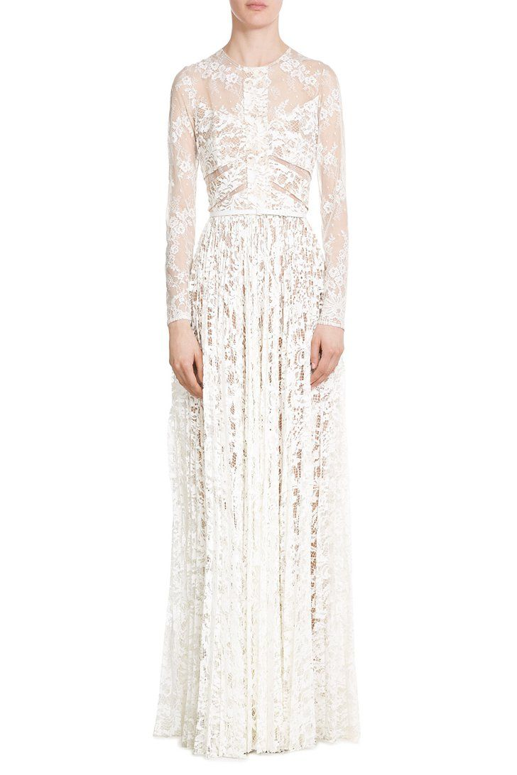 """Pin for Later: Kendall Has the Most """"Liked"""" Picture on Instagram, All Because of This Dress  Elie Saab Floor-Length Lace Gown ($7,395)"""