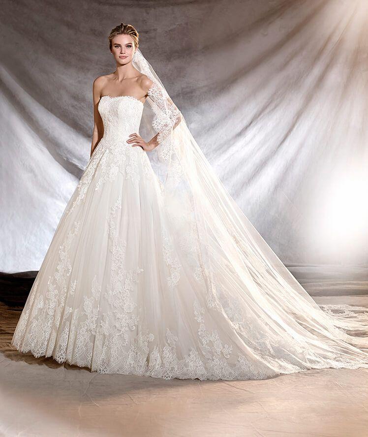 oribe - vestido de novia de tul y encaje | vestidos de novia de tul