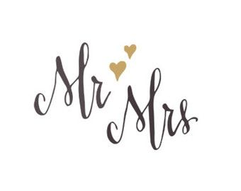mr mrs svg dxf file instant download silhouette cameo cricut clip art silhouette cameo and. Black Bedroom Furniture Sets. Home Design Ideas