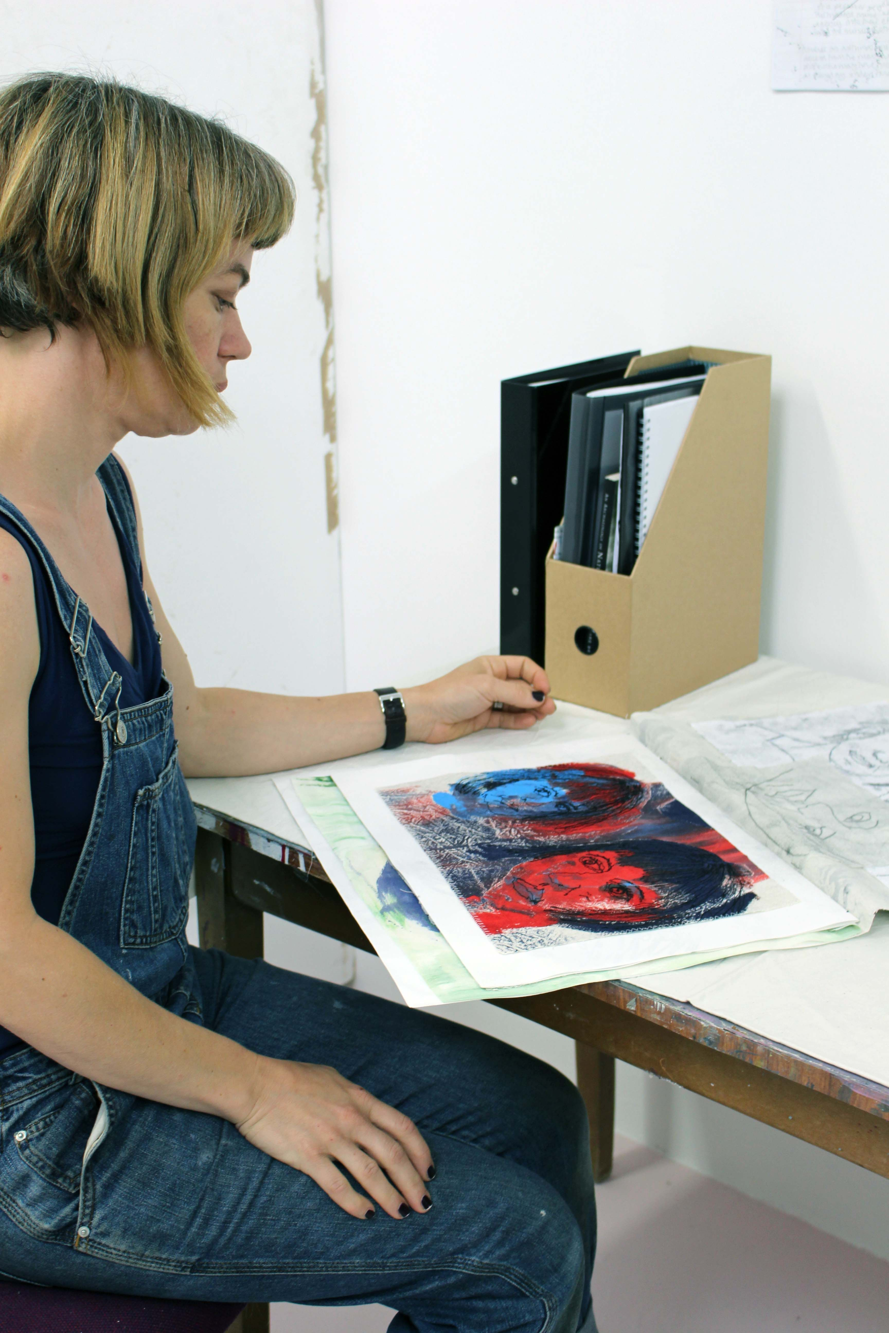 As part of their final assessment diploma in art and