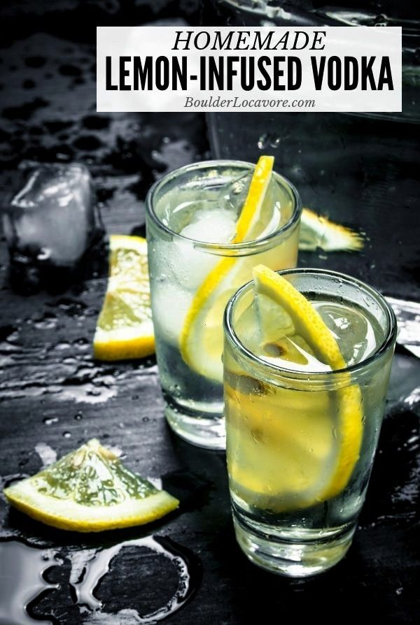Lemon Vodka is easy and affordable! This easy infused vodka recipe only takes 2 ingredients! You'll