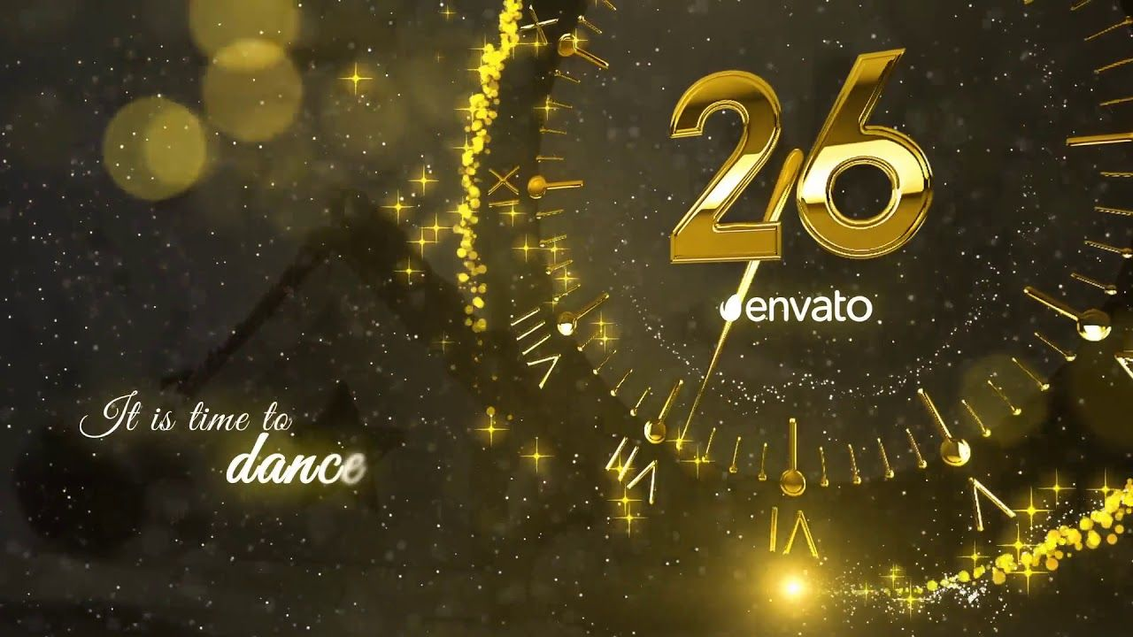 New Year Countdown 2019 Best After Effects Templates (Có