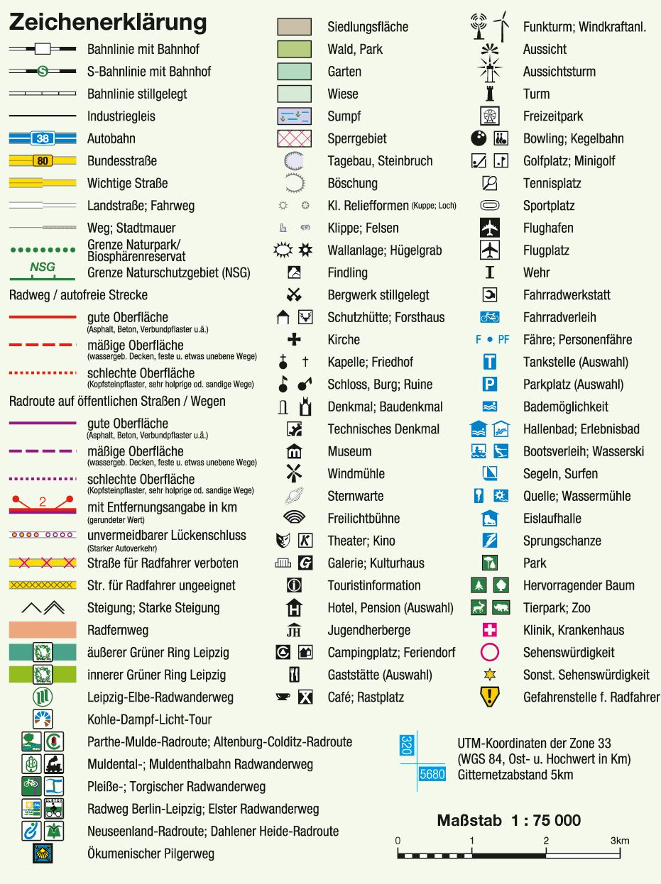 Legend Symbols for German Mapping | Cartography | Pinterest ...