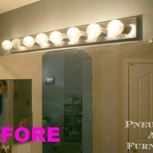 Changing Bathroom Vanity Light Fixture