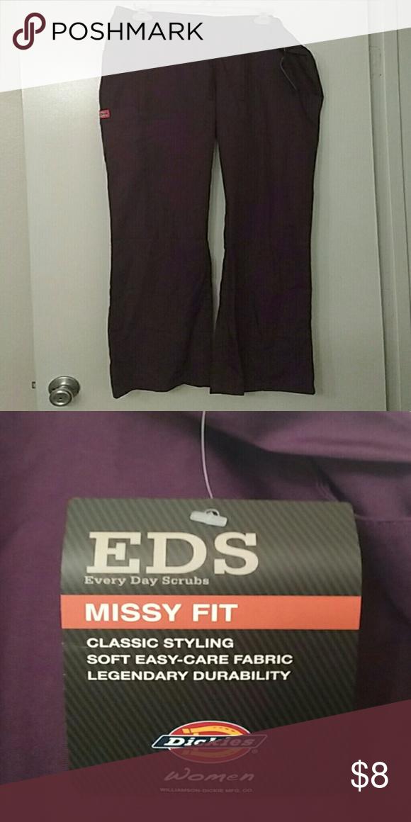 c8bc50c818b Dickies Scrub pants NWT | My Posh Picks | Pinterest | Dickies scrub ...