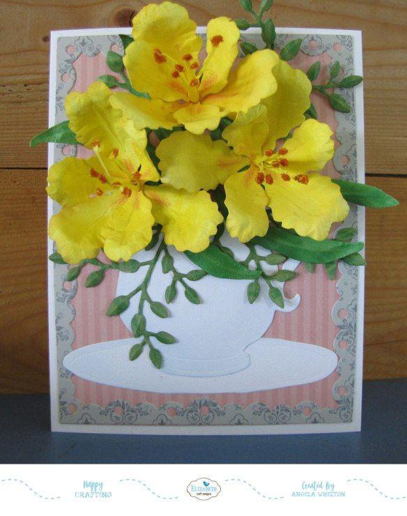 Susan\u0027s Garden Designer Challenge - July susans garden sizzix dies