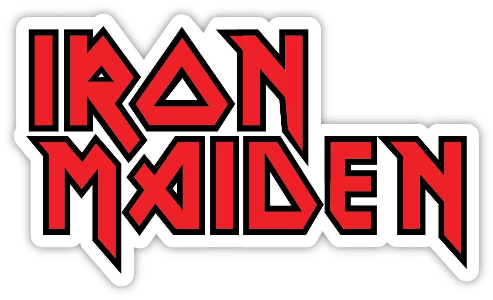 Bands Decals Iron Maiden Automotive Decal//Bumper Sticker