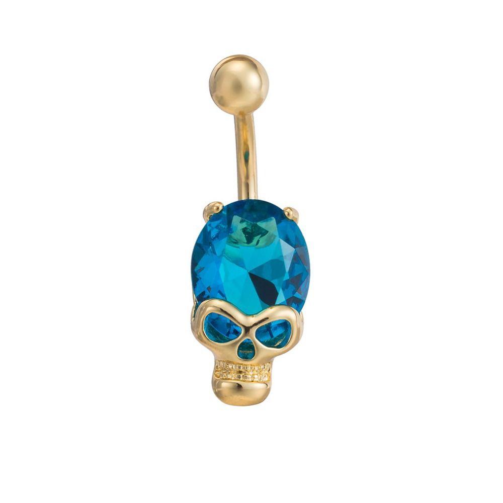 Bubble under belly piercing  Skull Navel button Body Jewelry  style  Pinterest  Body jewellery