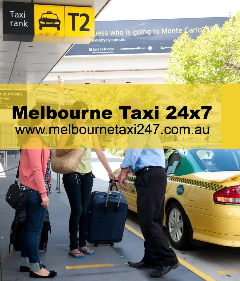 Book a taxi online with melbourne taxi 24x7 to and from