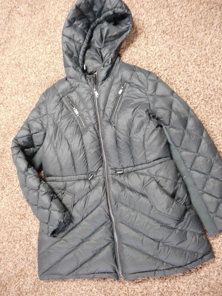 quality design 831ec bee3d Women's Steve Madden Packable Down Filled Jacket Sz Large ...