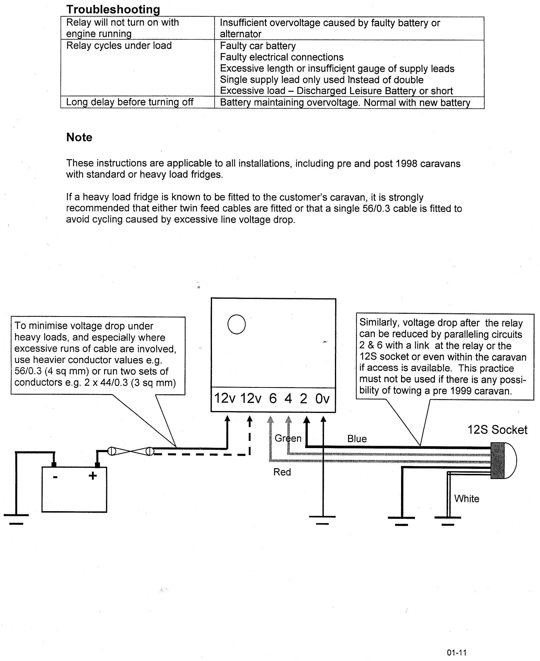 New Bailey Caravan Electrics Wiring Diagram