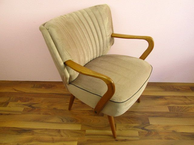 Cocktailsessel 50er  Vintage Sessel, Cocktailsessel, 50er 60er Jahre von ShabbRock ...