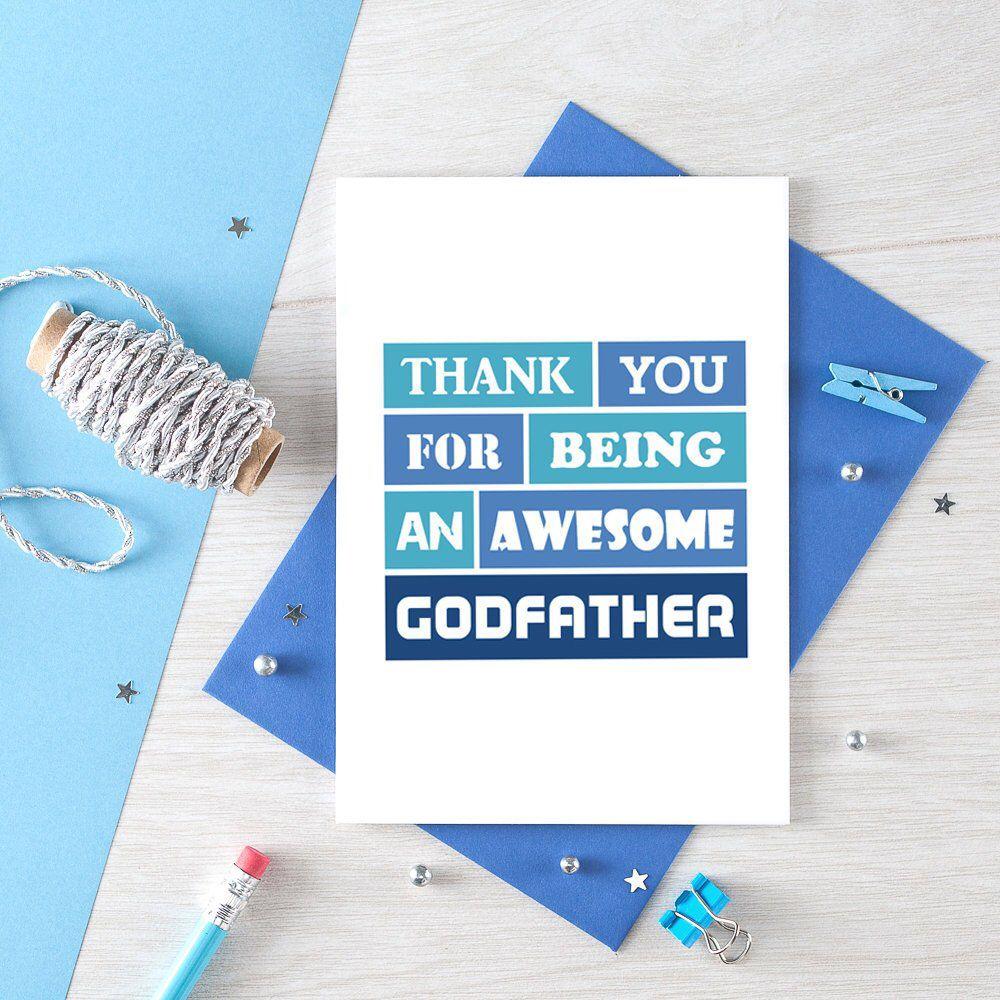 Godfather Birthday Card