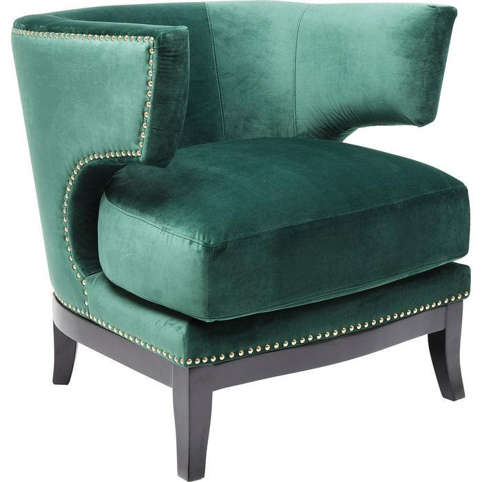 Art Deco Armchair KARE Design in 2020 Green armchair