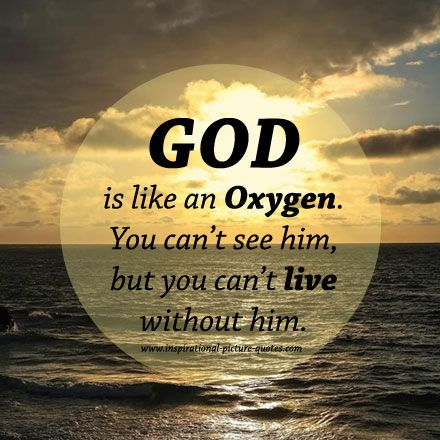 God Quote Quotes About Living With Intention  Can't Live Without God Quote .
