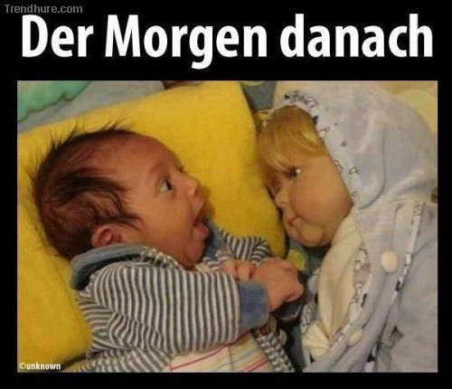 coole sprüche | Cartoons | Funny baby memes, Funny baby ...
