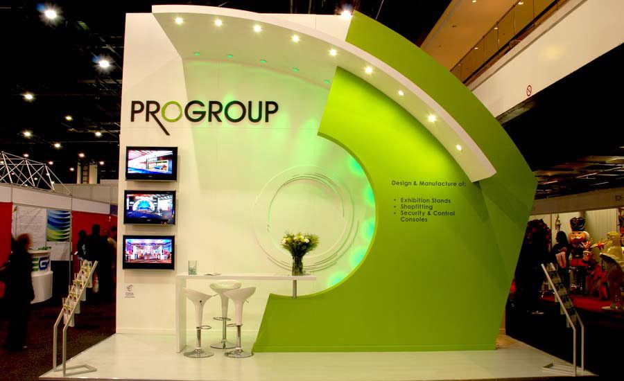 Simple Exhibition Stand Jobs : Love this simple design its great to such a small stand