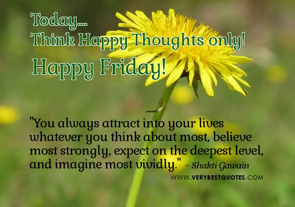 Image result for Happy Friday with good thoughts