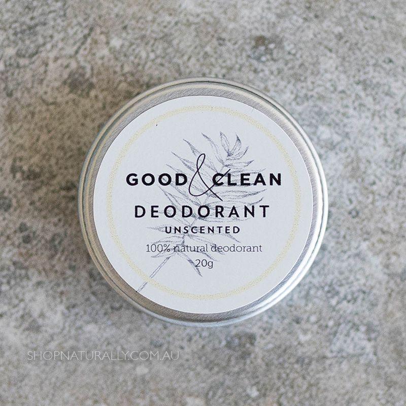 Good & Clean BiCarb Free Deodorant Paste Unscented 20g