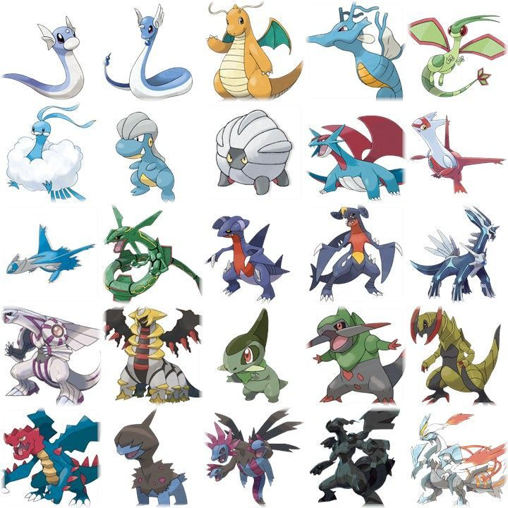 Dragon pokemon pokemon pinterest pok mon dragon type pokemon and dragon - Table des types pokemon xy ...