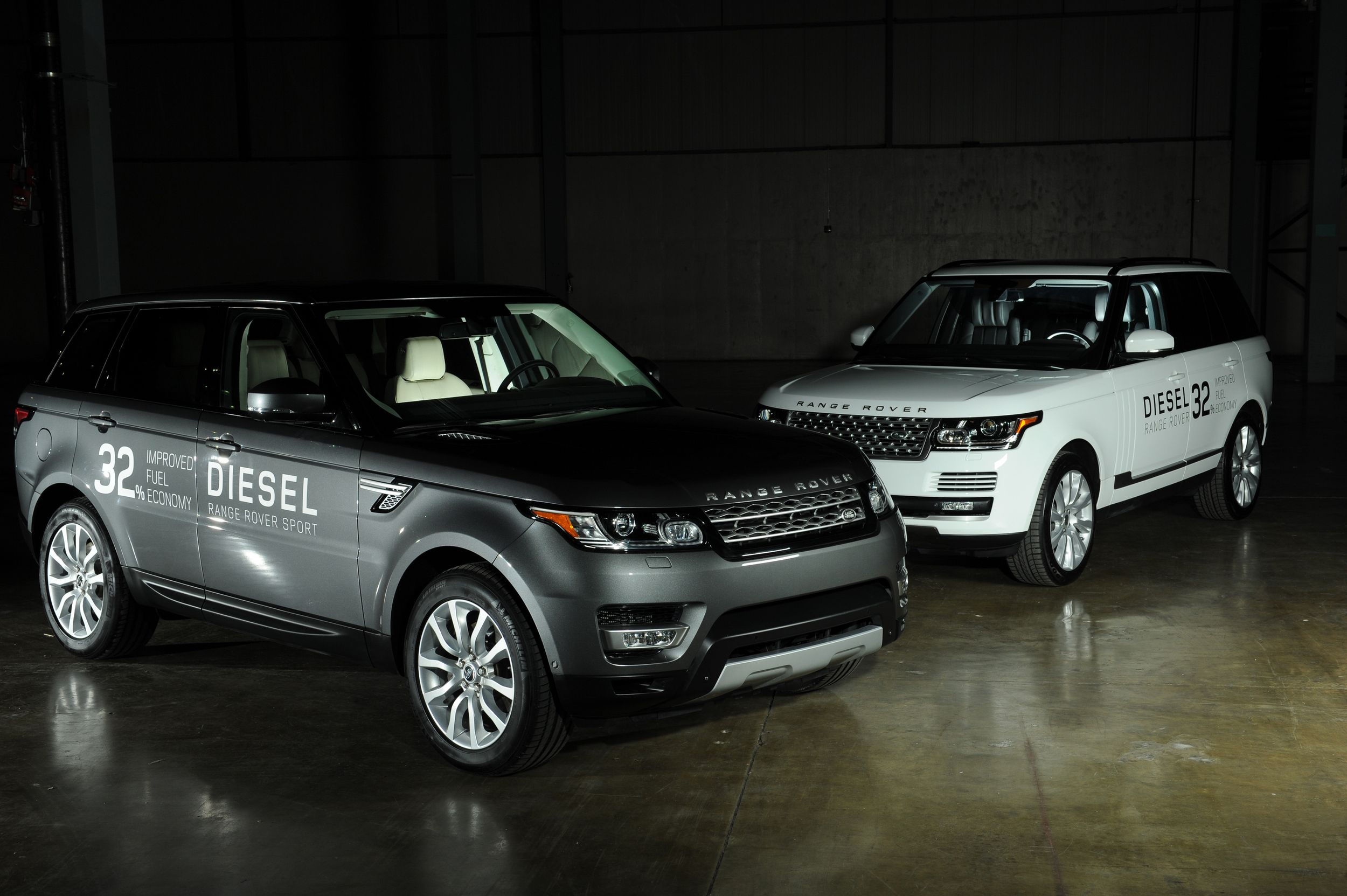 All jaguars and land rovers to get diesel engines