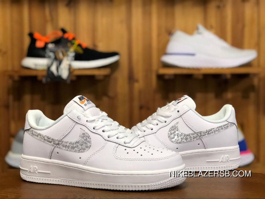 Nike Air Force 1 Just Do It Pack White Af1 Ar7719 100 36 44 White
