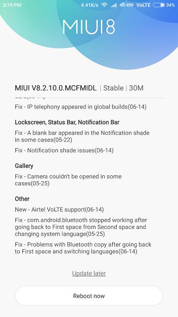 Airtel VoLTE जलद ह सकत ह लनच Xiaomi Redmi Note 4
