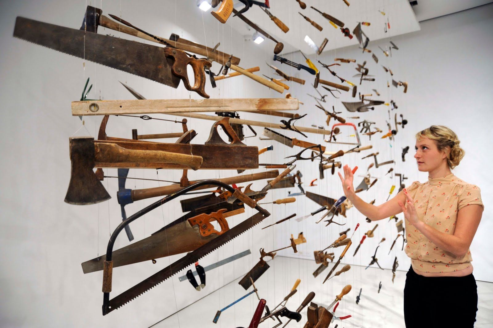 Installation Dami Ortega Entitled Controller Of