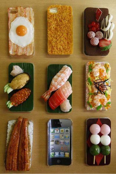 coque iphone 4 nourriture