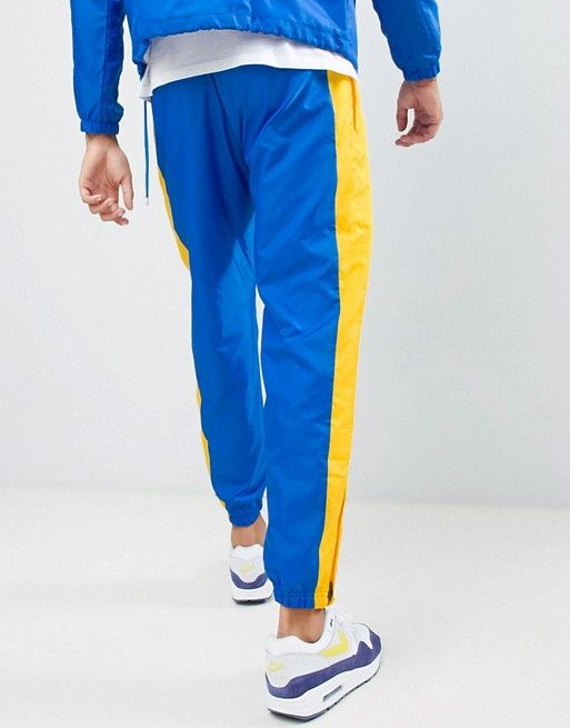 best place for rock-bottom price search for original Nike Re-Issue 1989 Joggers In Blue AQ1895-403 in 2019 ...