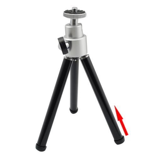 Universal Mini Tripod Stand for Digital Camera Webcam Black