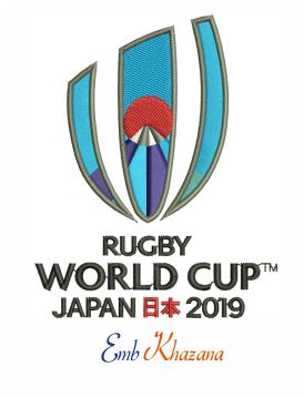 Rugby World Cup Embroidery Design Rugby World Cup Embroidery Designs Rugby