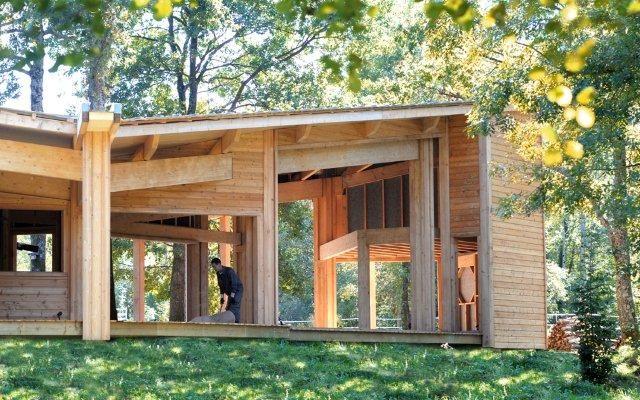 maison bois quadripil