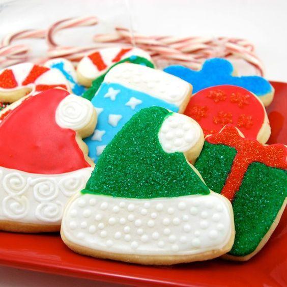 the best christmas sugar cookies recipe sugar cookies sugaring and christmas sugar cookies - Pictures Of Decorated Christmas Sugar Cookies