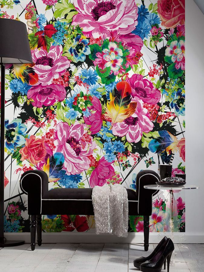 Brewster Romantic Pop Wall Mural Products Pinterest Wall