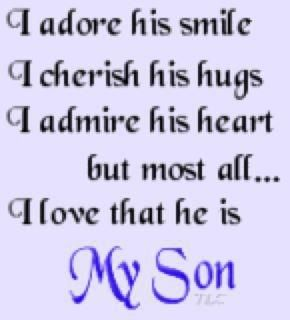 cute quotes for my son