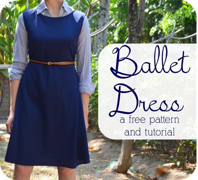Ballet Dress: A Free Pattern + Tutorial   Freebooks sewing ...