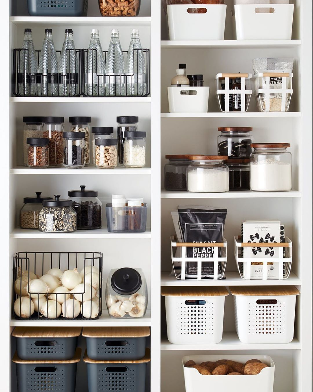 "that organized kitchen on Instagram: ""This is SO PRETTY �� @thecontainerstore . . . . . #kitchenideas #thatorganizedkitchen #homeorganizing #tidyingup #homeorganisation…"""