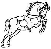 bildergebnis für silhouette pferdekopf | ausmalbilder