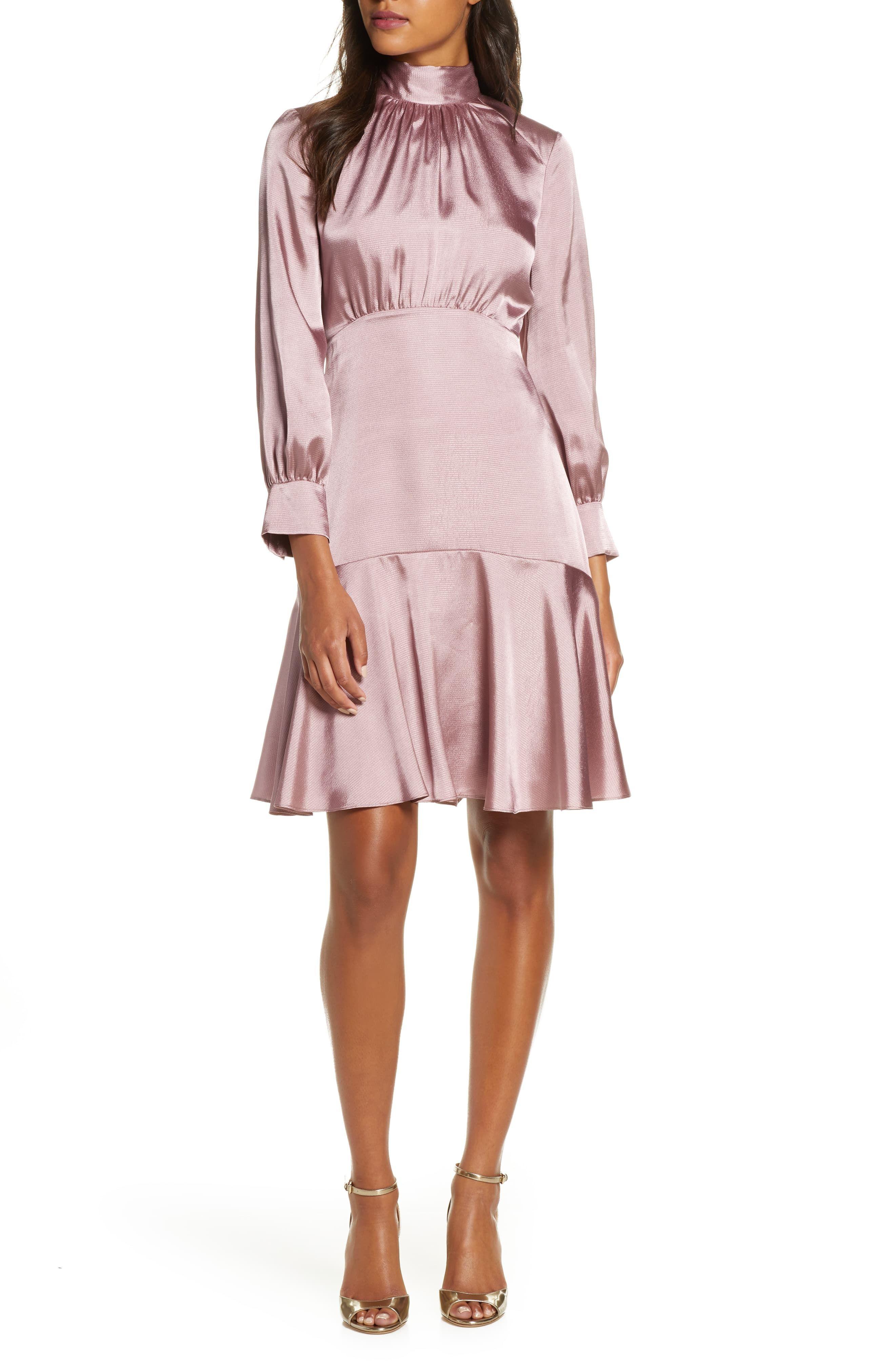 Eliza J Long Sleeve Fit Flare Dress Fit Flare Dress Flare Dress Fashion Clothes Women [ 4048 x 2640 Pixel ]