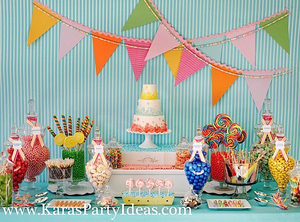 sweet-shoppe-party-candy-dessert-table-flags-rock-candy-cake-scoops-kara's-party-ideas-zurchers