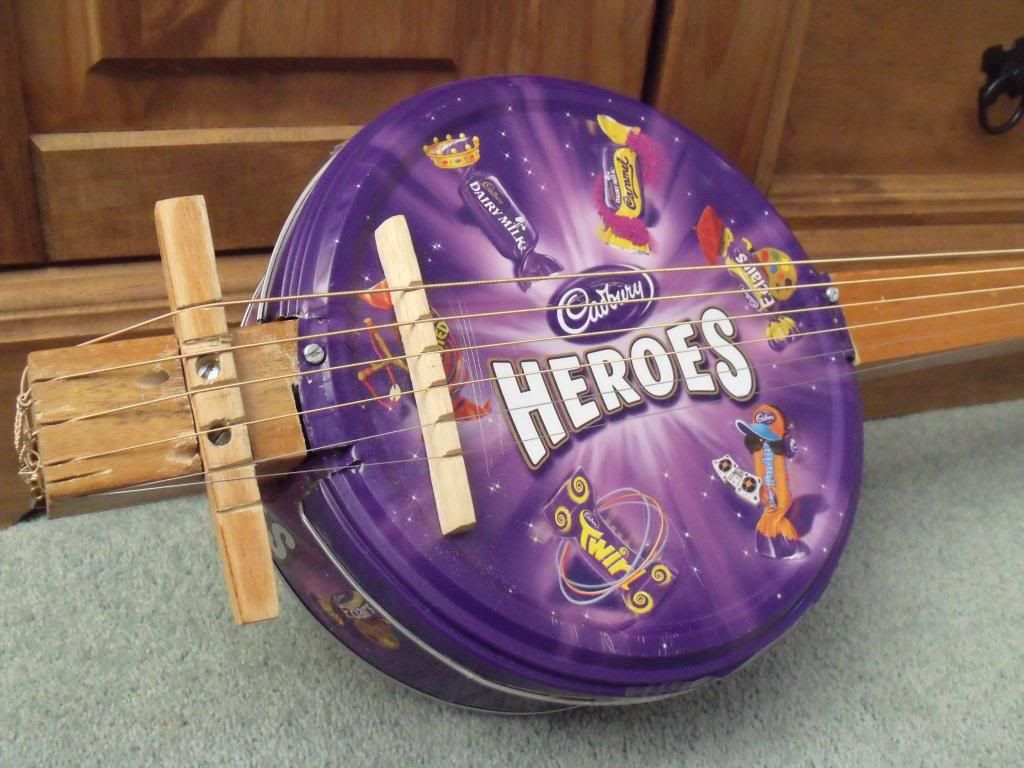 biscuit tin guitar - Google Search